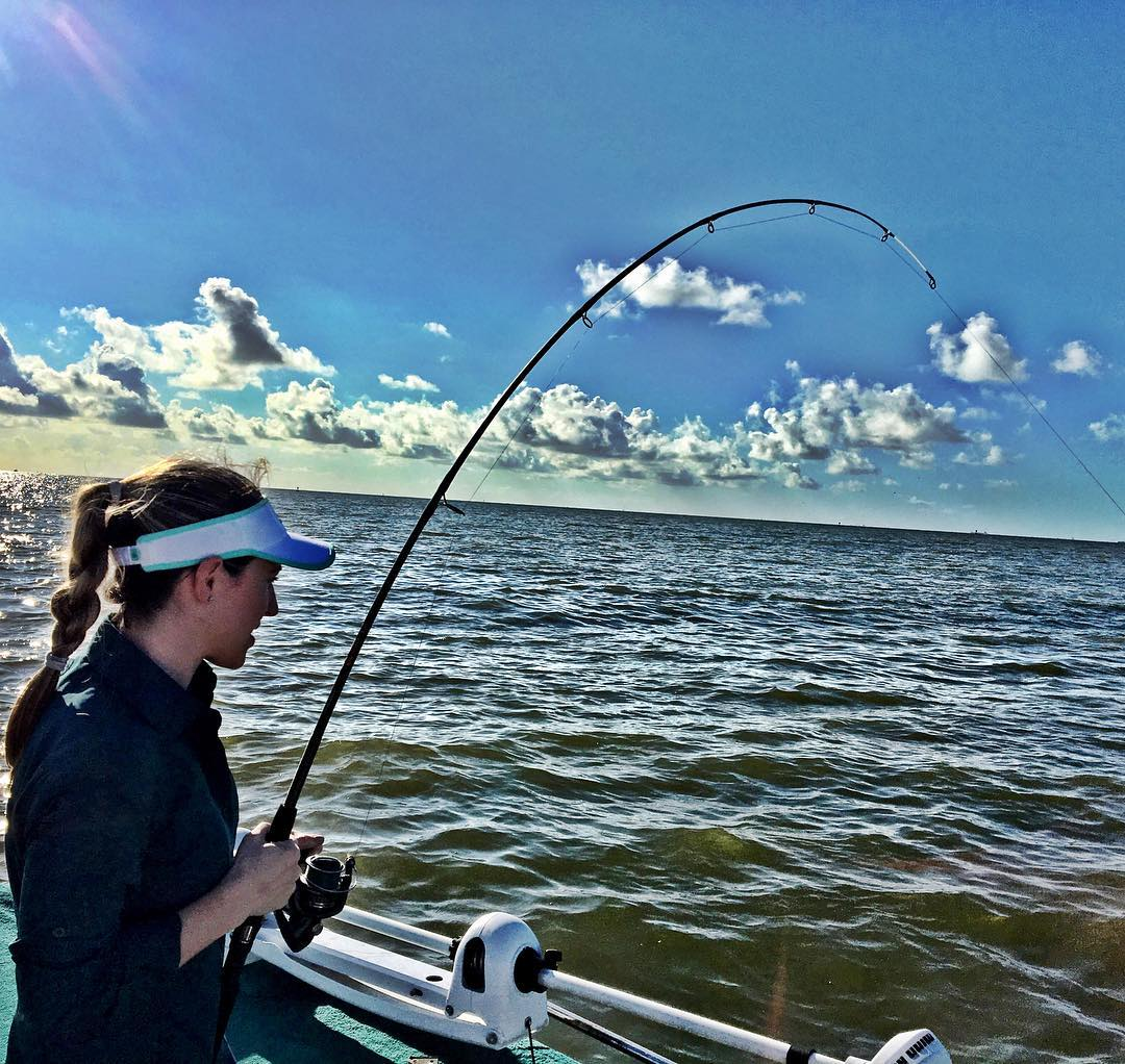 """Only a 41"""" inch Bull, but the wife makes it look easy with 20lb  and a  symetre ..."""