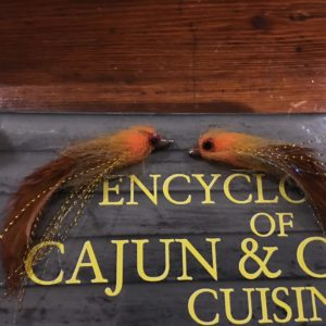 Tying up some cajun & creole cuisine for the upcoming redfish season.           …