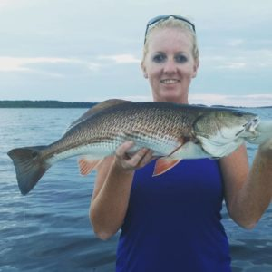 D×mn good Redfish bite thru sunset today. Cast, count to 5, fish on…every sing…