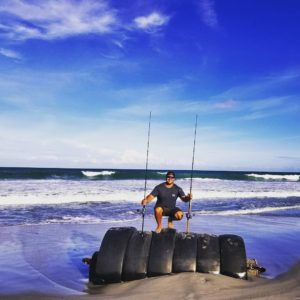 Fished this morn with  and  got into some fish!decided to walk beach this aftern…