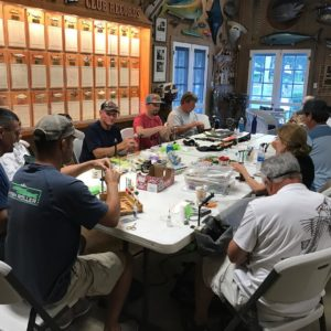 Meeting of the fly tying minds !                                 …