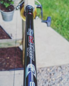 Ole Zinger got a rod upgrade for them big bluecats… .                         …