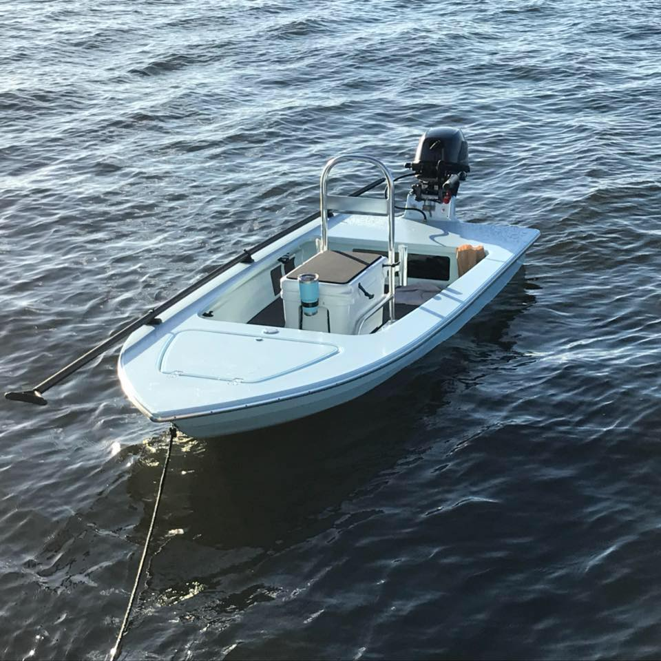 Wrightwater Microskiff - Great skiffs come in small packages