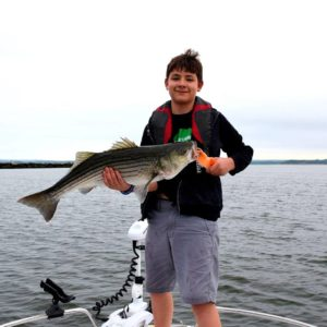 Danny wins the Junior Angler Division at the Big Doug's Memorial Saltwater Shootout.
