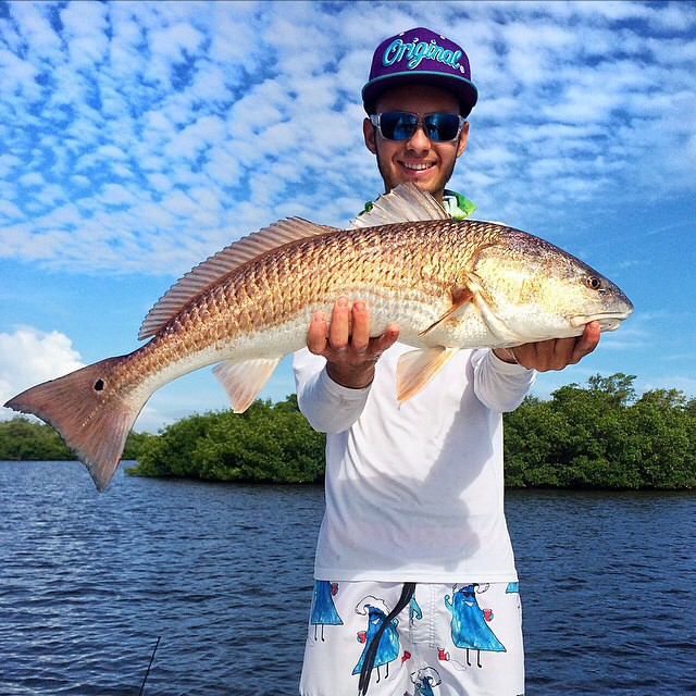 @justinmcnall with a clean, clean redfish