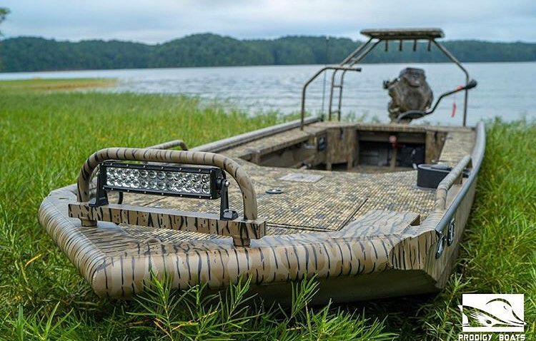 @prodigyboats blending right in