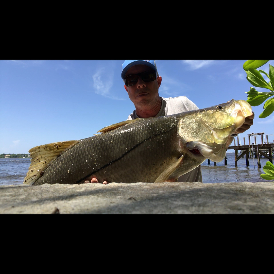 """Mid afternoon 43"""" on a solo wading trip.  ..."""