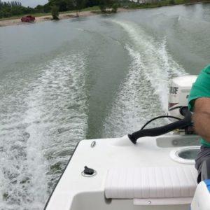 Our secret test lake       …
