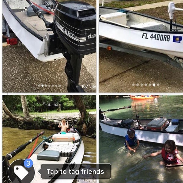 ***STOLEN*** My 15.4 foot white in color gheenoe boat was stolen from my yard in...