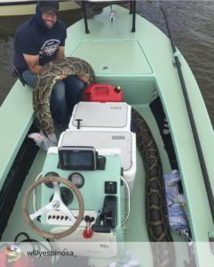 That would be some surprise getting ready to go out fishing and finding another…