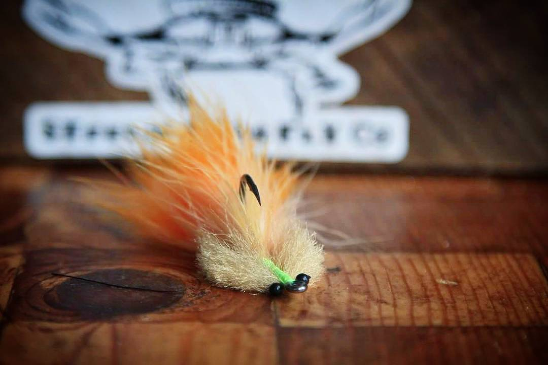 The orange glow toad. Check em out on the site! www.SteelieBrosFlyCo.com...