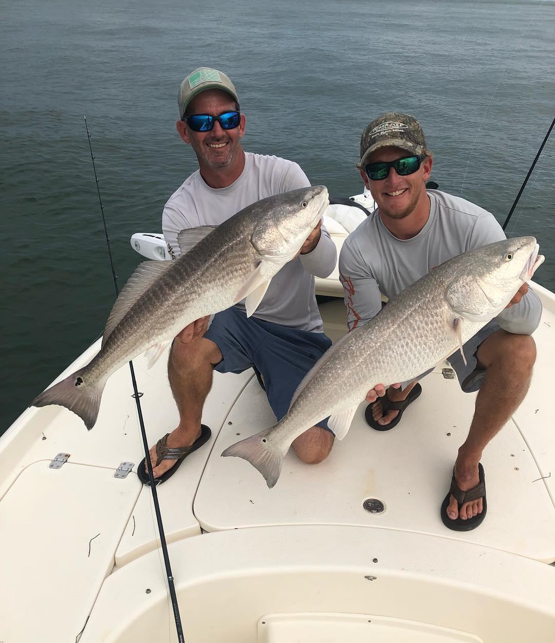 Anything better than Redfish? Yep, two!
