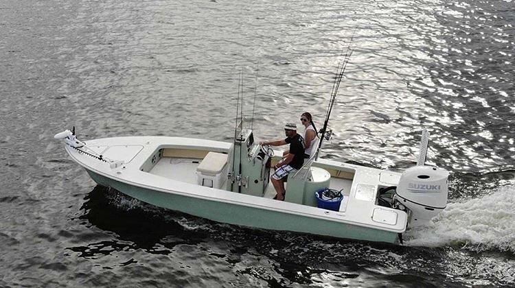 Egret, The Cadillac of Flats Boats