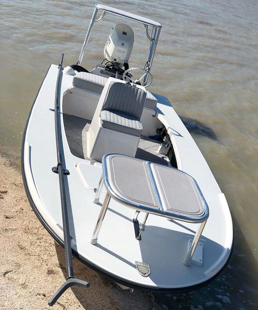 @mrkendiaz got his Glasser Boatworks setup!