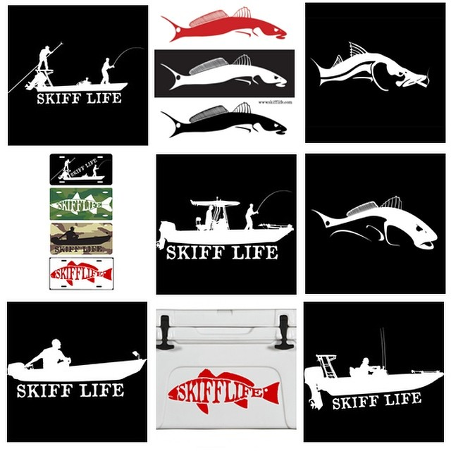Any Decal, Any Quantity...FREE SHIPPING!  Coupon Code: skiff  GOTO:www.skifflif...