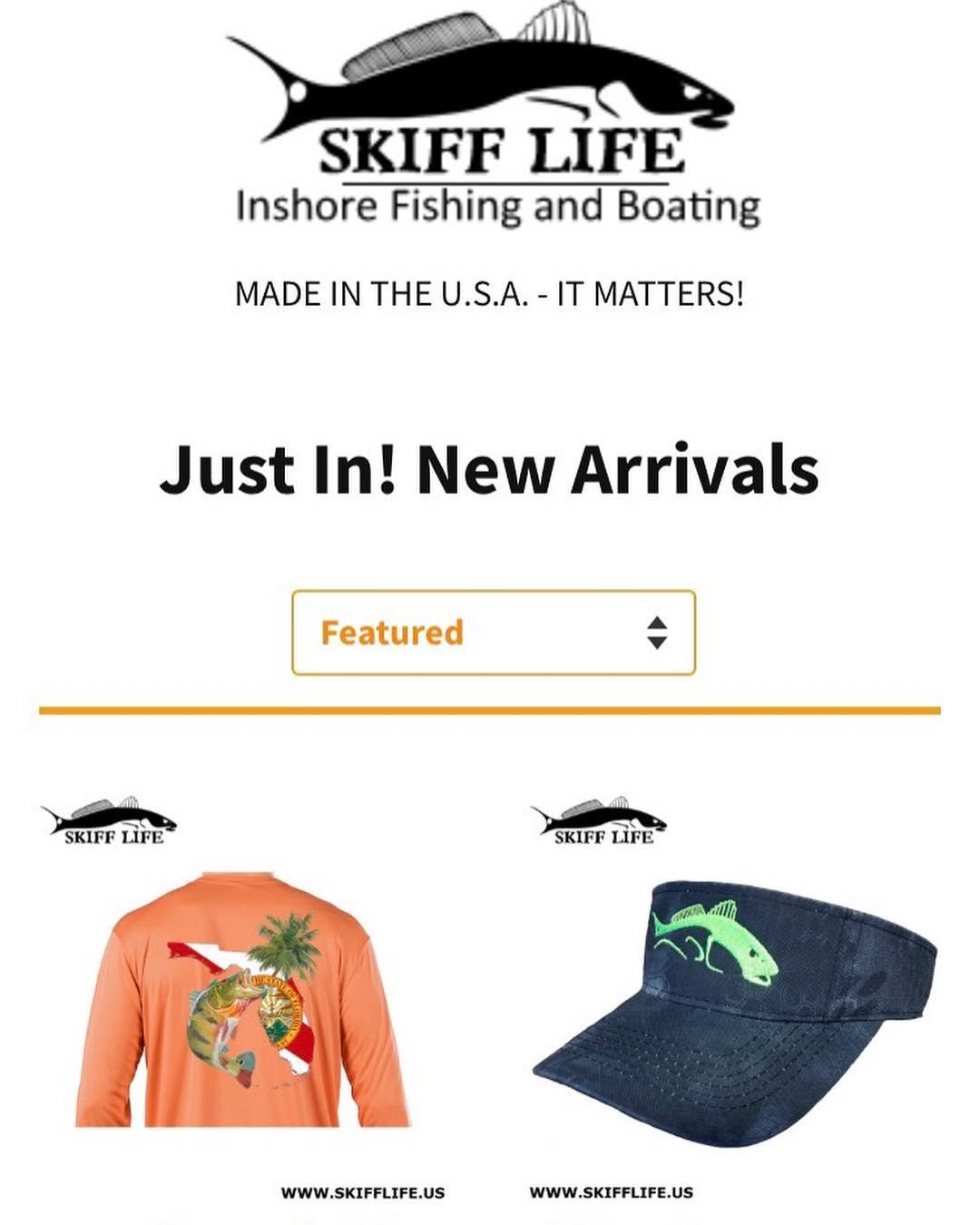 New merch in stock! www.skifflife.us