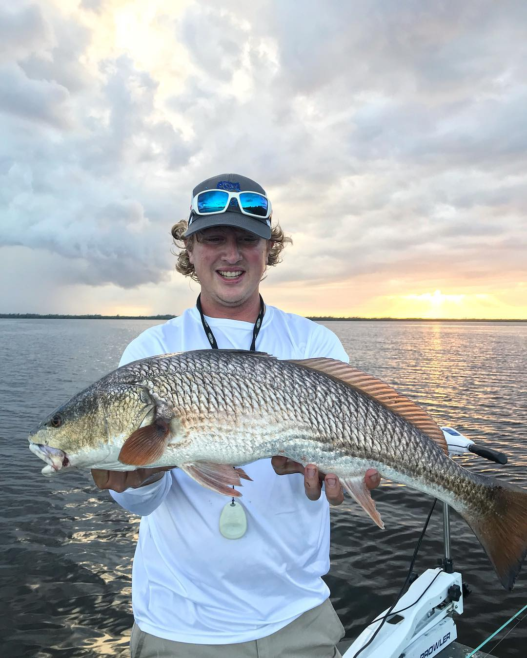 After work slay. No spot redfish . . . . . .