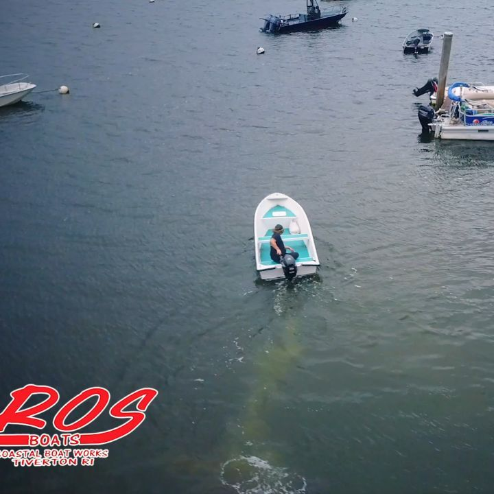 ROS 13 cruising the bay... By far one of the most affordable 13ft skiffs on the