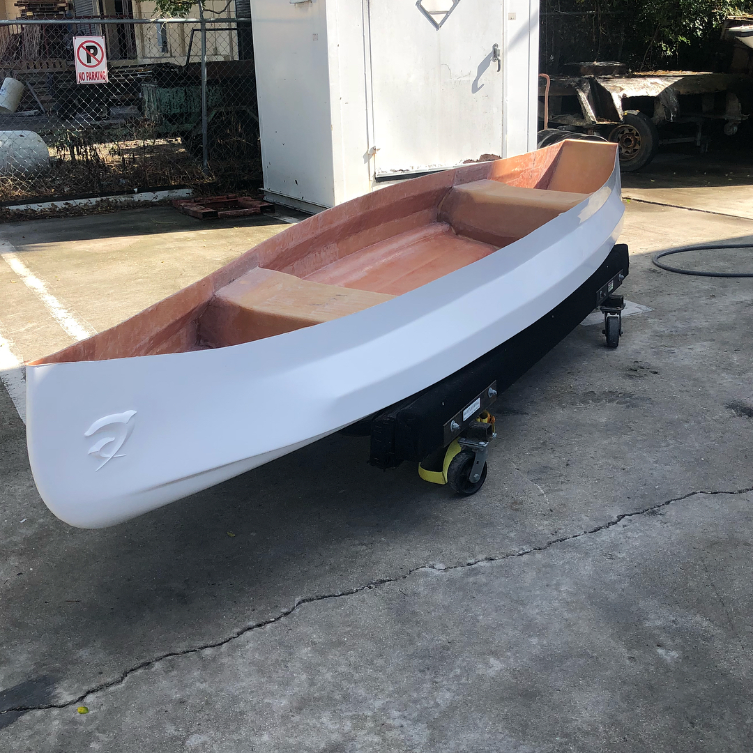 Brand new Mangrove canoe! Do you have that special someone who does shore fishin