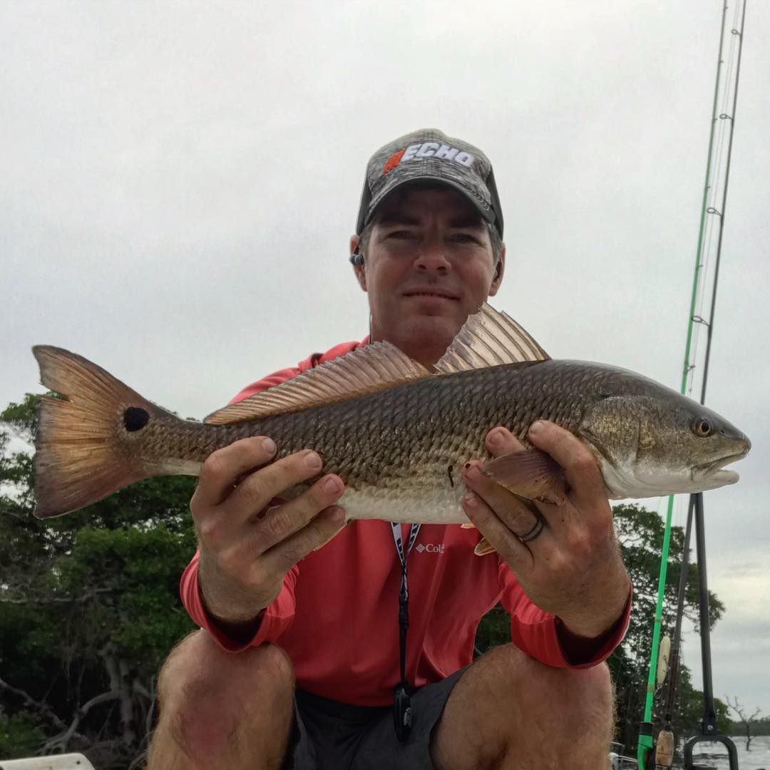 Inshore redfish are the best!