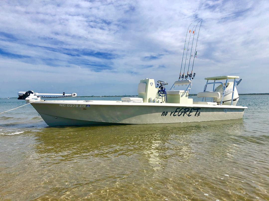 2018 Egret Moccasin 210 Flats Boat