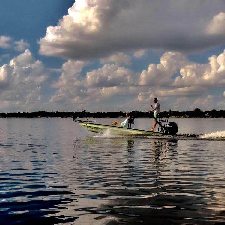 On the hunt with Cayo Skiffs