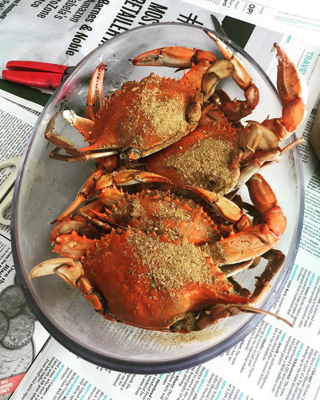 Hurricane crabs