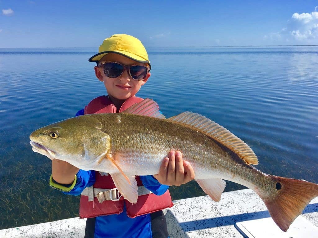 Weekends are for family!  Grab the kids and go fish!    Capt. Mike . . .