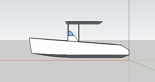 A little more CAD work. This time I added in the t-top which I am still debating