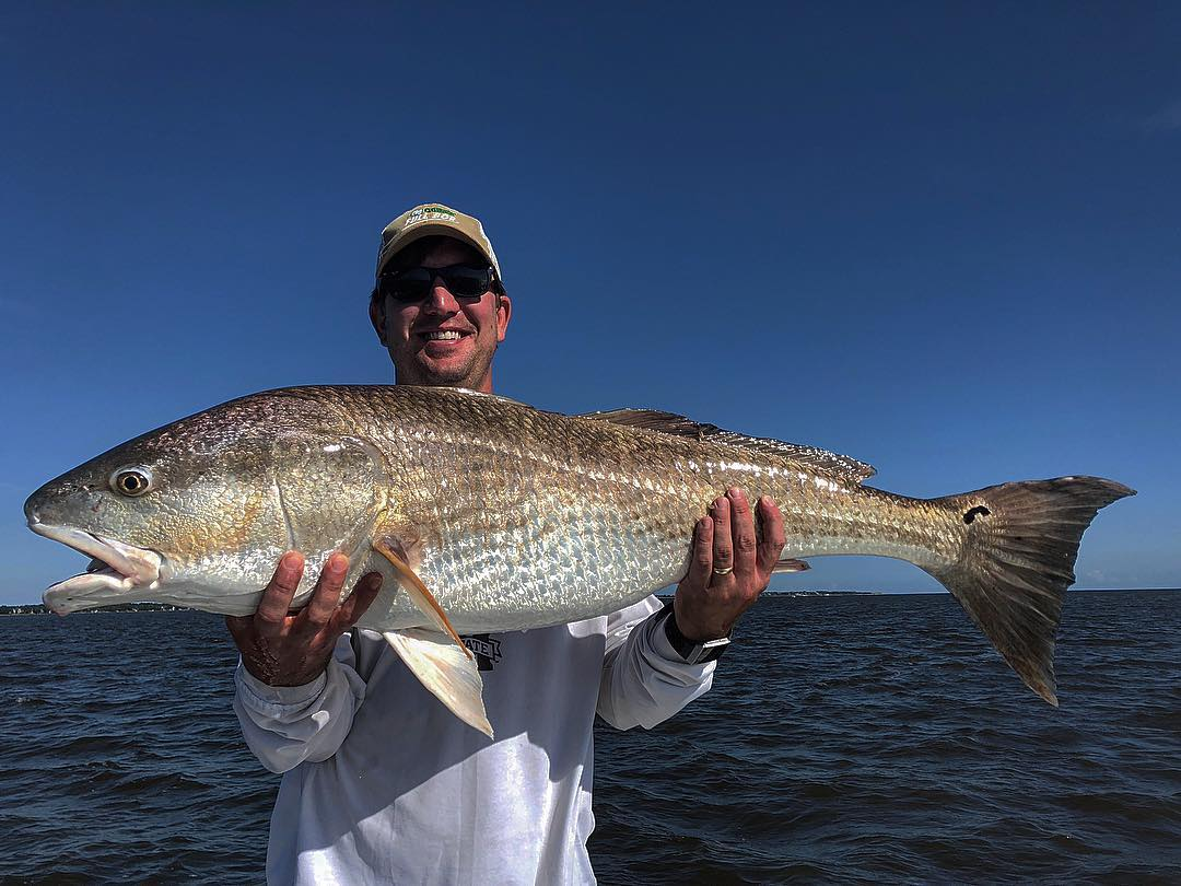Monster Redfish with Capt. Addison