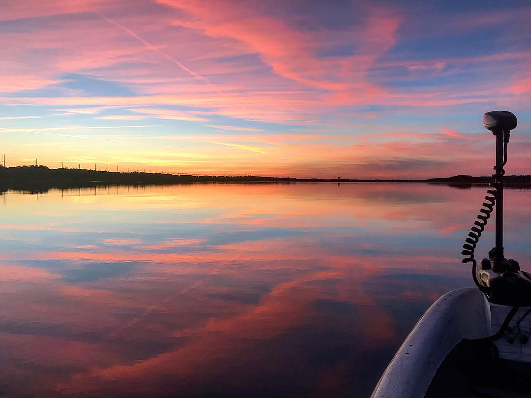 Sunsets from the skiff