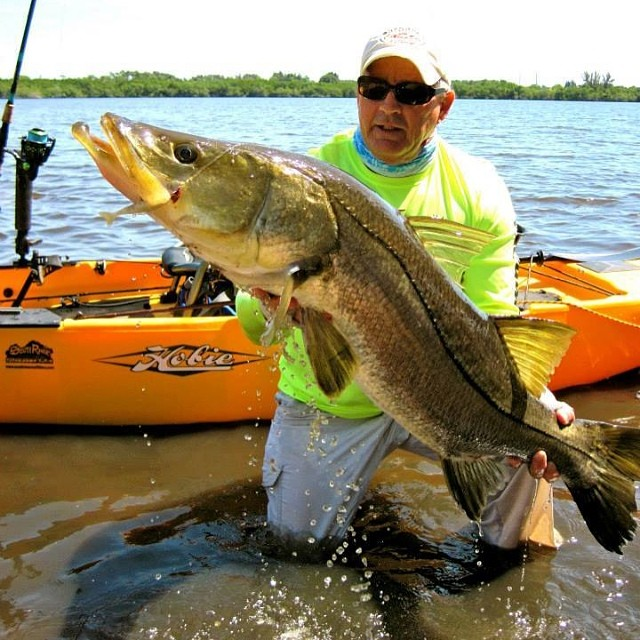 Ummm...SPEECHLESS!!!! Jerry with Monster Snook!