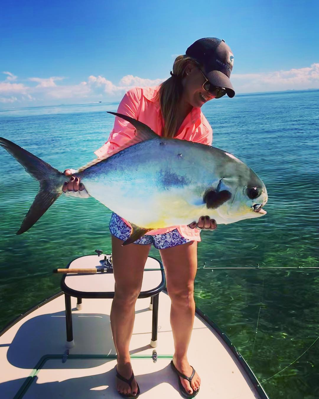 Permit on the flats can't be beat.