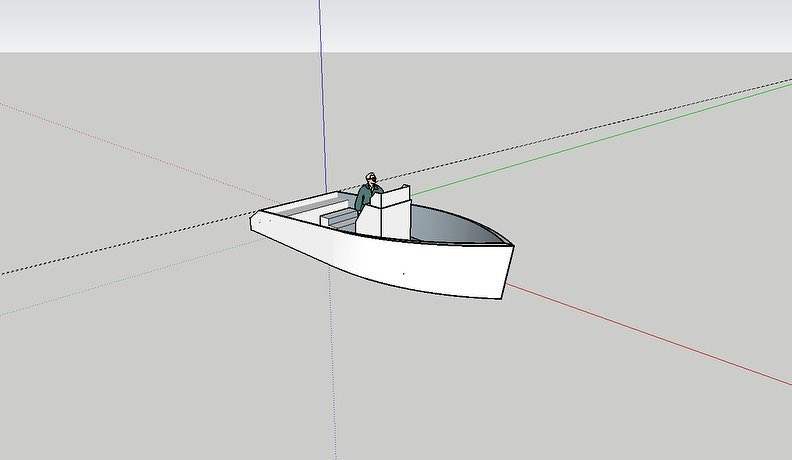 Not much done in terms of actual design with this SketchUp update. These past co