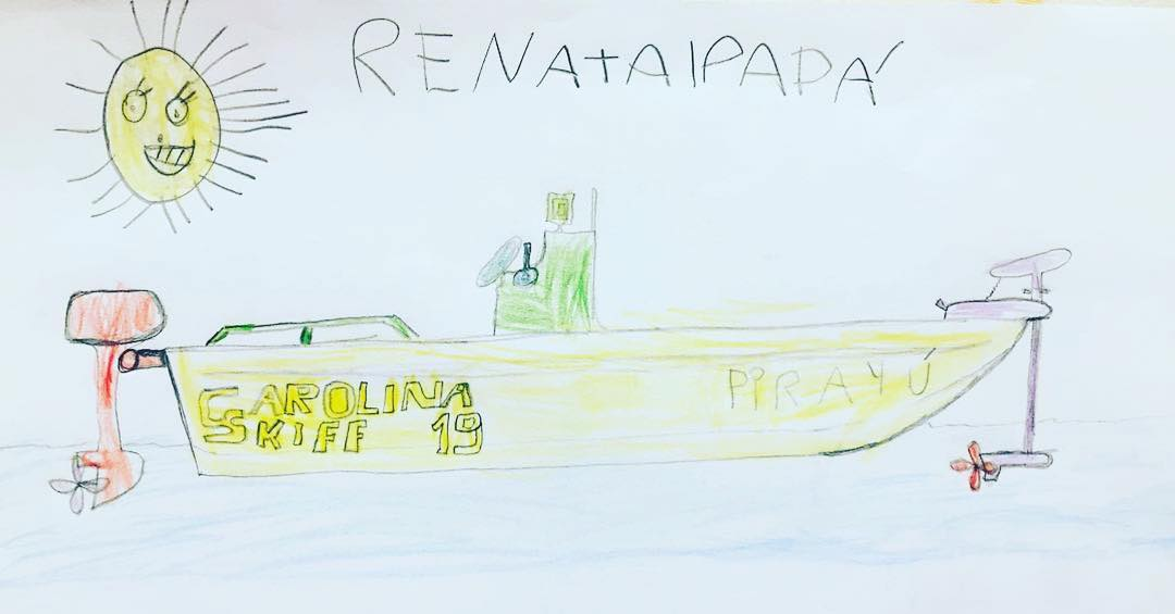 We have the best fans! Matias submitted this drawing done by his daughter by tag