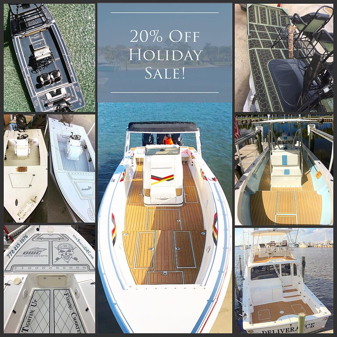 To kick off the holiday season, Open Water Concepts will be offering a discount