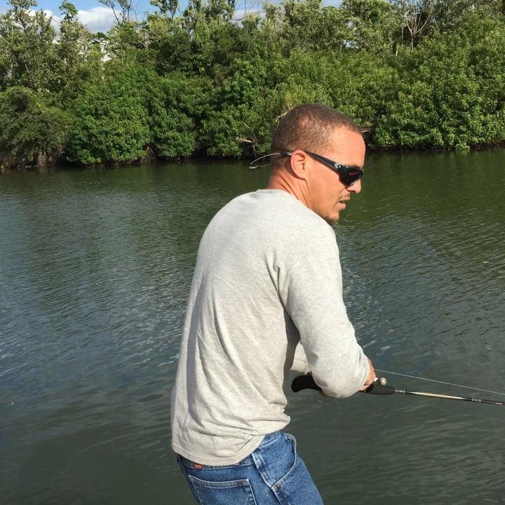 a little bit of fishing today in marco island