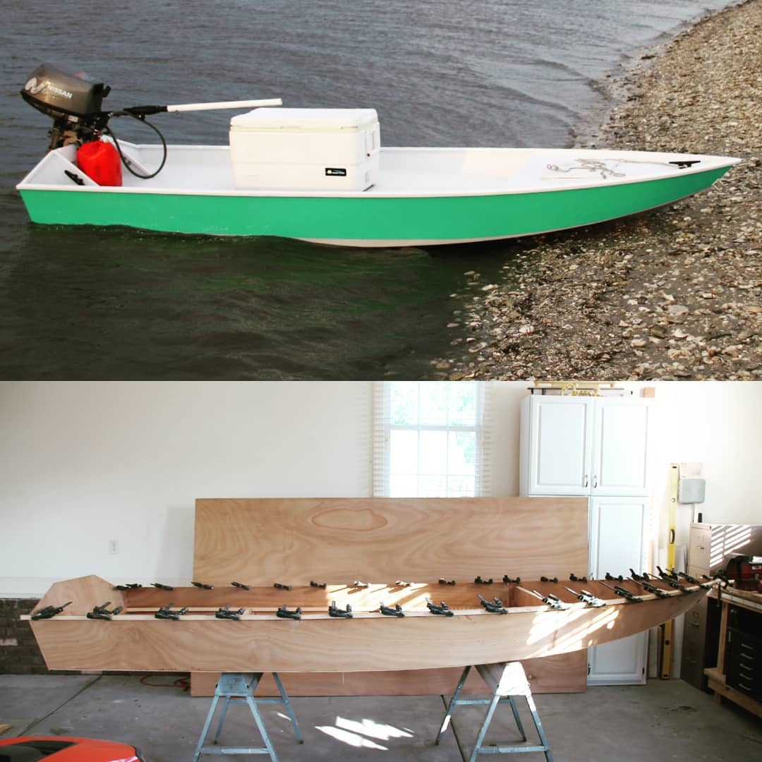 The FRS-12, a simple and easy to build plywood skiff that doesn't look like just