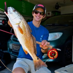 5WT has been putting in work on the redfish.