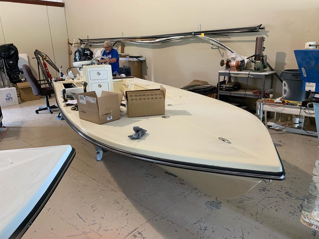Another Texas bound Tortuga getting rigged up.