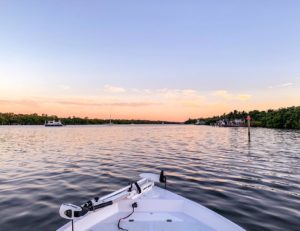 Those skiff views can't be beat!