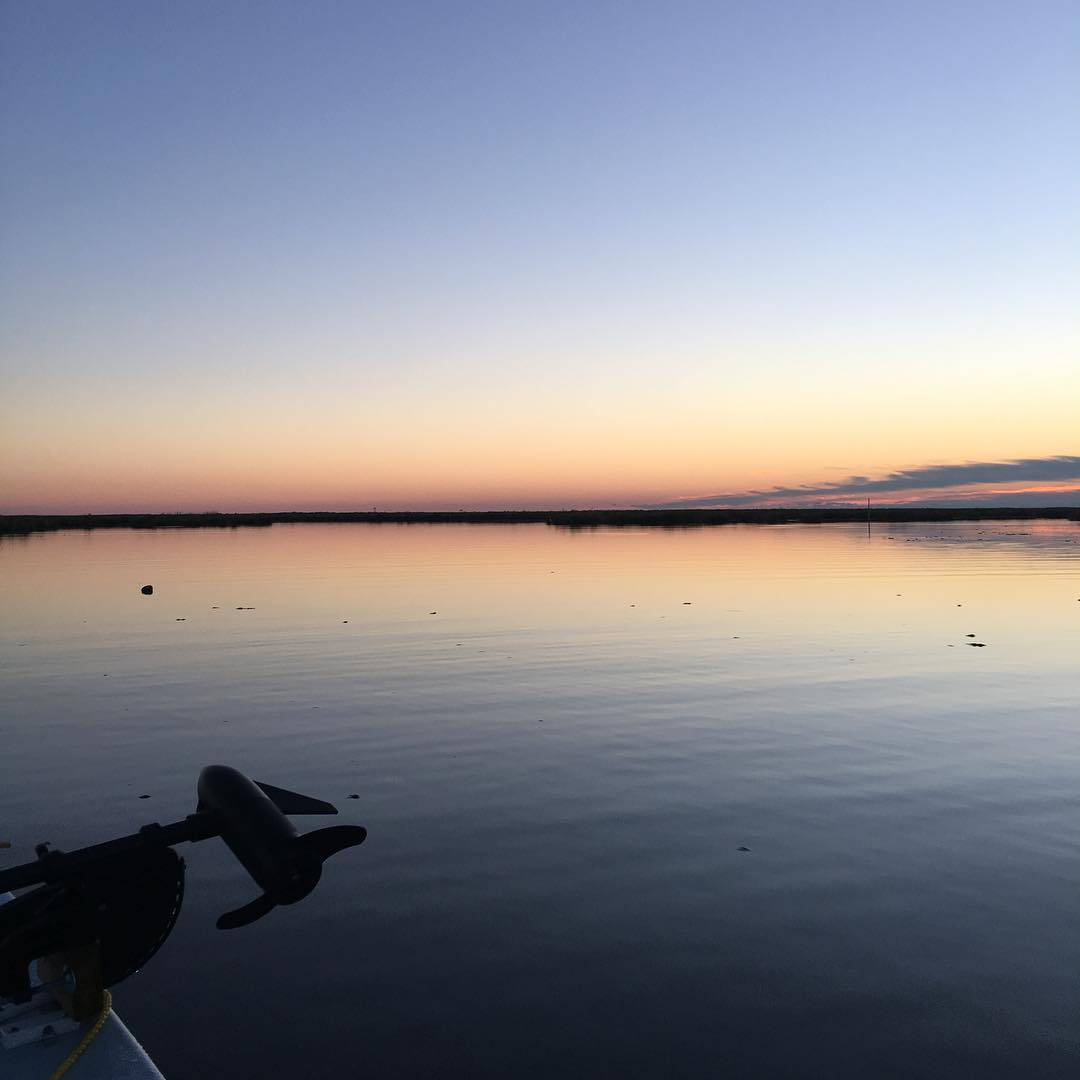 Tough day of fishing in the solo but can always be worse. The views in the marsh