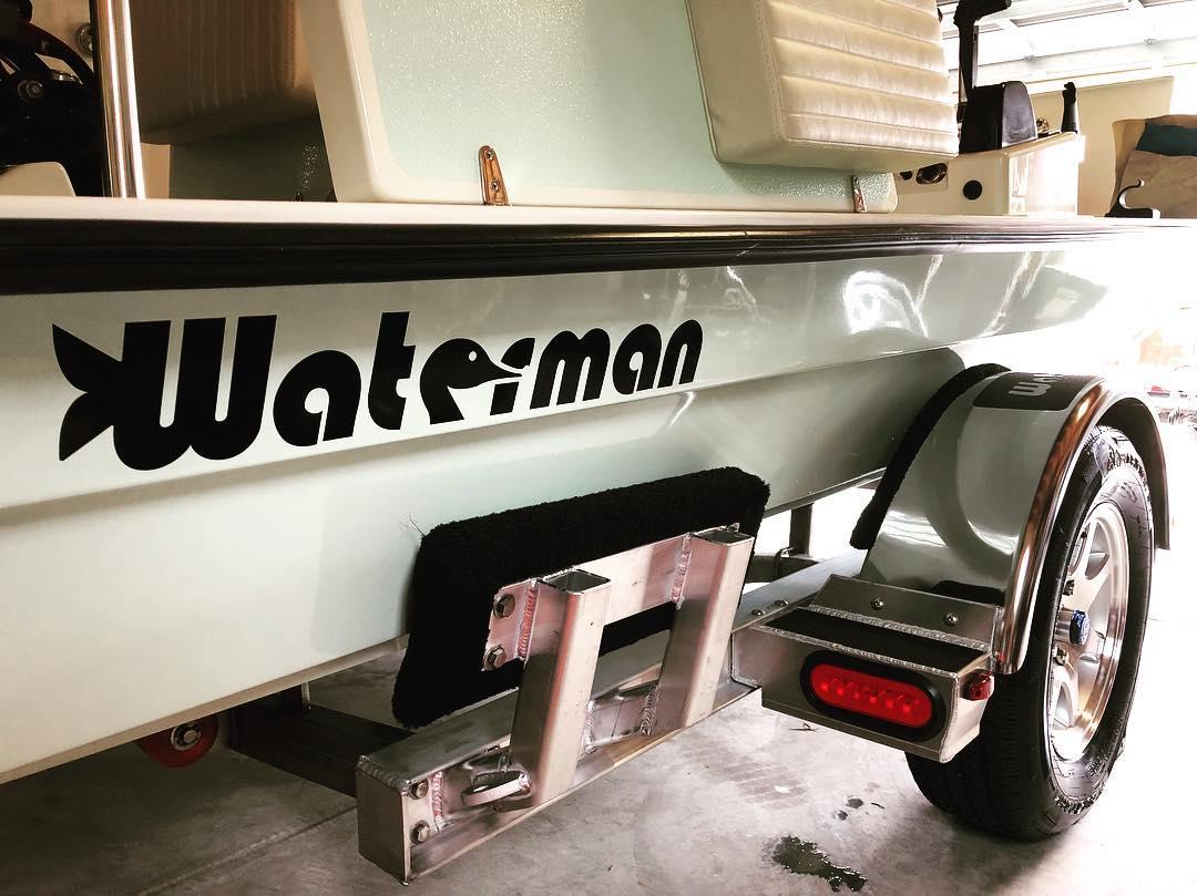 A clean Waterman is a happy Waterman