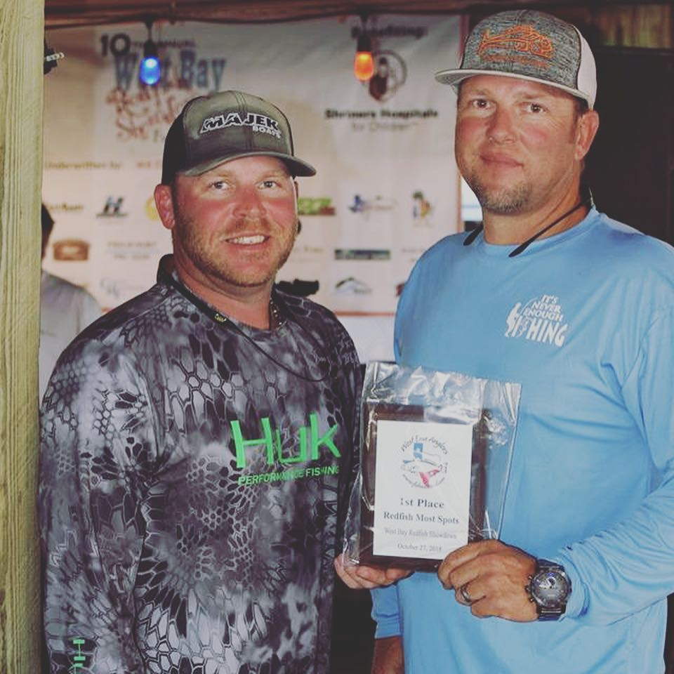 1st place side pot yesterday at the West Bay Redfish Showdown & Fundraiser 11 sp