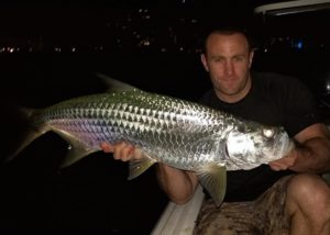 Tarpon are out super thick right now. Fun Size!