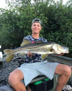 Matlacha, FL snook fishing is HOT right now.