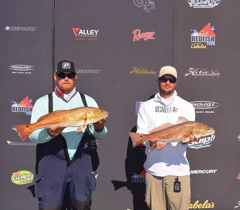 and I were able to find two upper slots on day 2 of the IFA Redfish Tour Champ