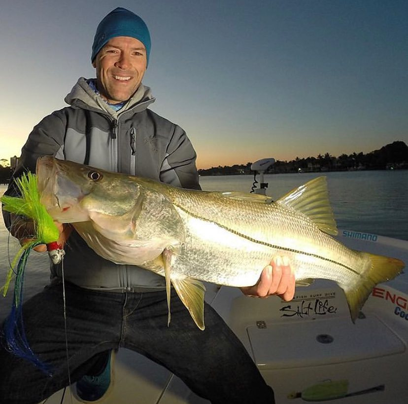 @jupiter_snooker with an awesome snook!!