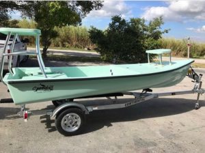@whitetipboats Spoonbill in guide green ready to roll! …