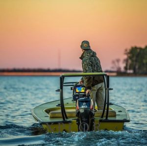 Xplor Boatworks with their beautiful hunting rig.